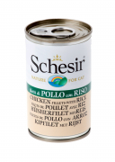 Schesir Cat Can Chicken fillet with rice 140 g