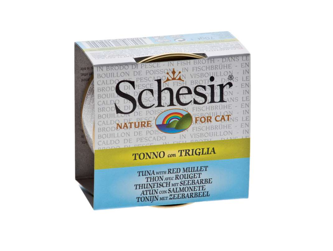 Schesir Cat Brühe Thunfisch mit Seebarbe 70 g