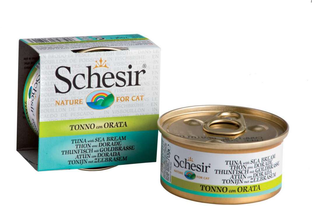 Schesir Cat Broth Tuna with Bream 8005852615237 kokemuksia