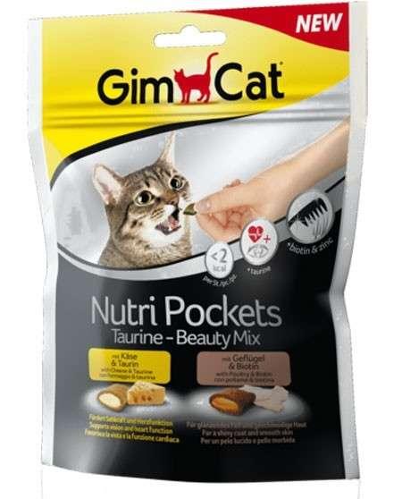 GimCat Nutri Pockets Taurine+Beauty Mix 150 g