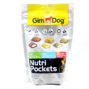 GimDog Nutri Pockets Mix - Weight 150 g