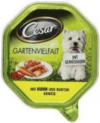 Cesar Shell Garden Variety with Chicken and Mixed Vegetables 150 g