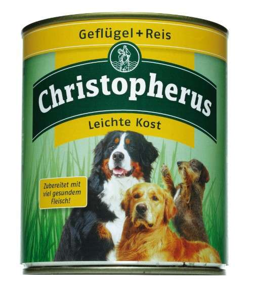 Christopherus Adult Dog Light – Poultry & Rice Can 800 g
