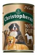 Christopherus Fleischmahlzeit - 100% Pur Cheval Boîte 400 g