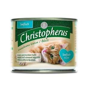 Christopherus Adult Cat - Sea fish Can 200 g 4005784174042 anmeldelser