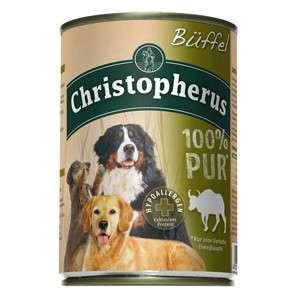 Christopherus Fleischmahlzeit  - 100% Pure Buffalo Can 400 g