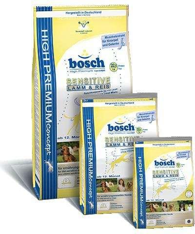 Bosch Bosch Sensitive Lam & Rijst Hondenvoer 1 kg, 3 kg