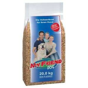 Dry dog food My friend 20 kg  by Bosch Buy fair and favorable with a discount
