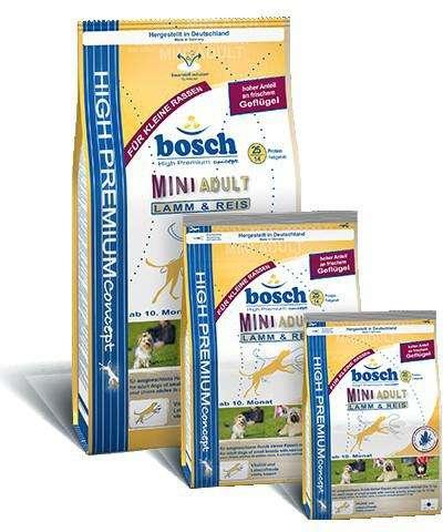 Bosch Mini Adult Lam & Rijst 3 kg, 15 kg, 1 kg