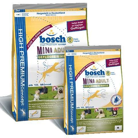 Bosch Adult Mini Gevogelte & Gierst 1 kg