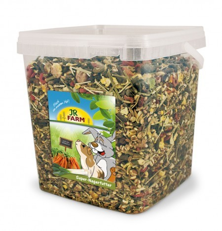JR Farm Super Rodents Food in Bucket 2.5 kg 4024344056963 anmeldelser