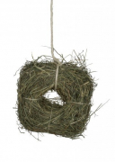 """Welcome"" Hay Wreath Dandelion JR Farm Small pet bedding   - low prices and a huge selection 24h"