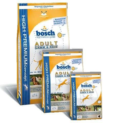 Bosch Bosch Adult Lam en Rijst 1 kg, 3 kg