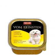 Vom Feinsten Light Lunch Turkey & Cheese 150 g van Animonda