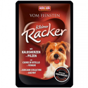 Vom Feinsten Kleiner Racker Veal heart & Mashrooms 85 g fra Animonda
