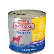 Integra Dog Protect Sensitive Agneau + Amarante   Alimentation en boîte pour chien   de chez Animonda. Economisez jusqu'à 80% dès à présent!