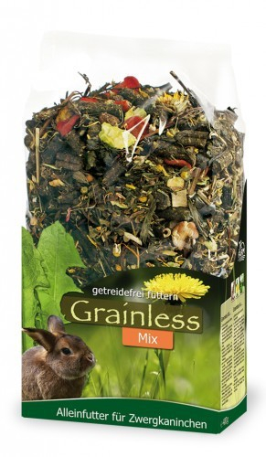 JR Farm Grainless Mix Dwarf Rabbits 650 g 4024344101090