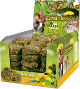 JR Farm Grainless herb rolls Dandelion-Sunflower 70 g