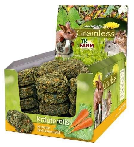 JR Farm Grainless roll Herbes Ortie - Carotte 80 g