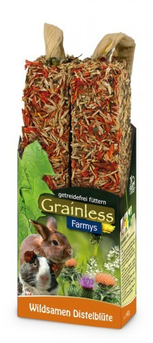 JR Farm Grainless Farmys Wild Seed-Thistle Flower 140 g 4024344081583
