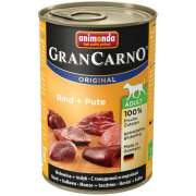 GranCarno Adult Beef + Turkey 400 g fra Animonda