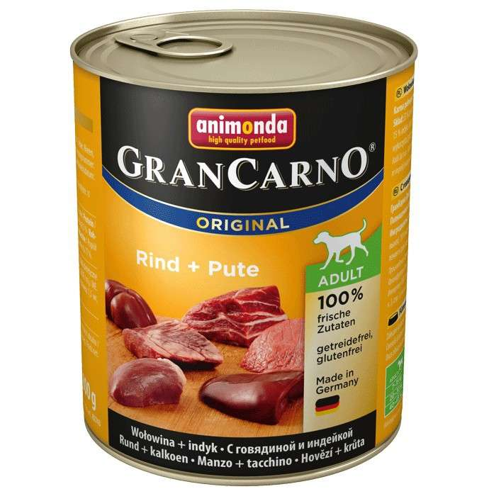 Animonda GranCarno Original Adult Rind & Pute 800 g