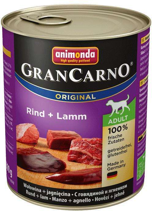 Animonda GranCarno Original Adult Beef & Lamb 800 g