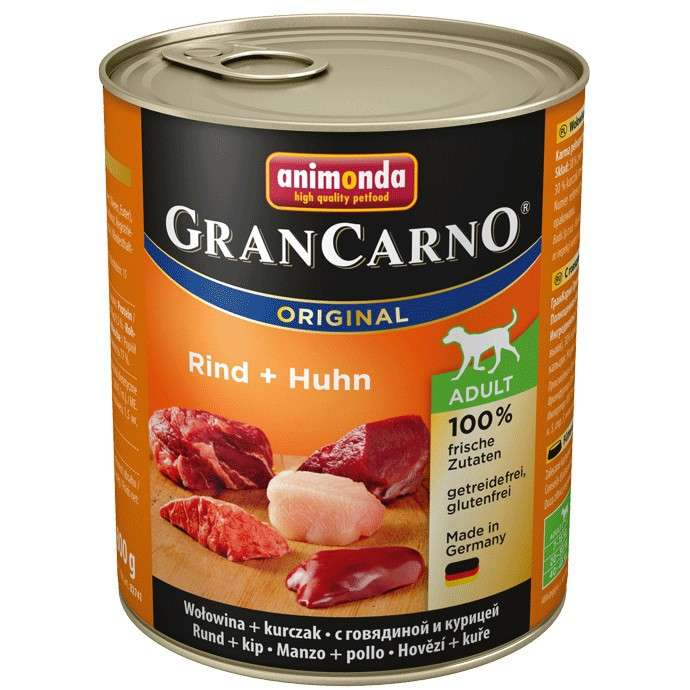 GranCarno Original Adult Beef & Chicken 800 g