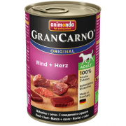 Animonda GranCarno Adult With Beef + Heart 400 g