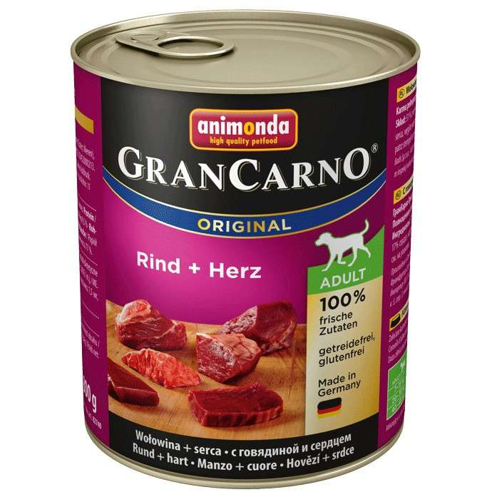 Animonda GranCarno Original Adult With Beef & Heart 800 g