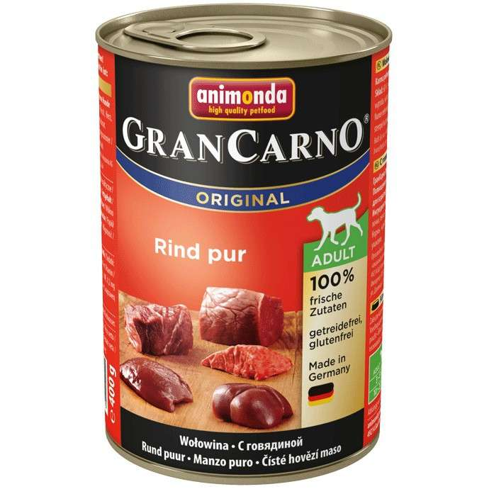 Animonda GranCarno Original Adult Beef Pur 800 g, 400 g
