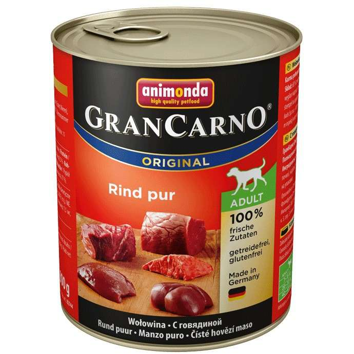 Animonda GranCarno Original Adult Beef Pur 800 g order cheap