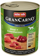 GranCarno Original Adult Beef with Turkey Heart 800 g