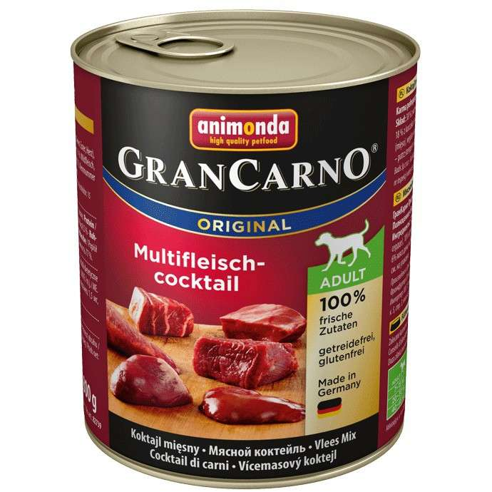 GranCarno Original Adult Multi-Meatcocktail 800 g