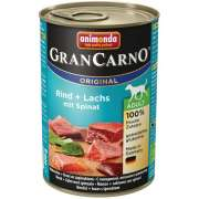 GranCarno Adult Salmon + Spinach 400 g fra Animonda