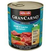 GranCarno Original Adult Rind & Lachs mit Spinat 800 g