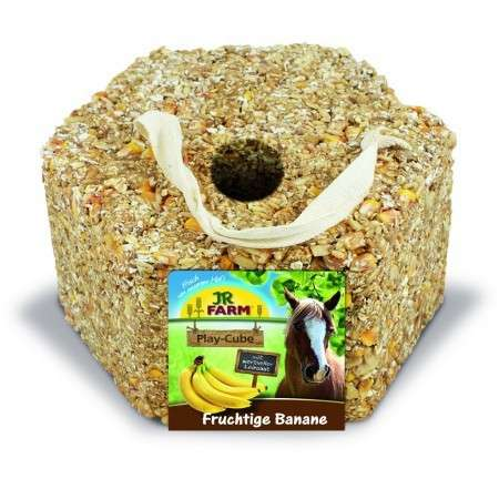 Horse Play - Cube Banane von JR Farm 1.75 kg online günstig kaufen