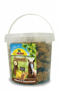 JR Farm Valentinis Banana and Black cumin Seed 1 kg