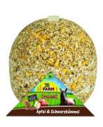 JR Farm Horse Apple und Black Cumin Seeds Play Ball 1.75 kg