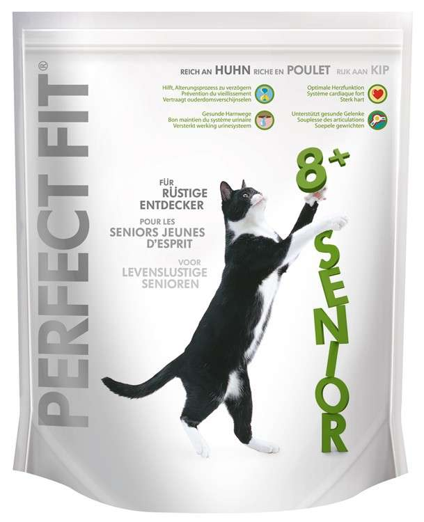Perfect Fit Gato Senior Rico en Pollo 750 g