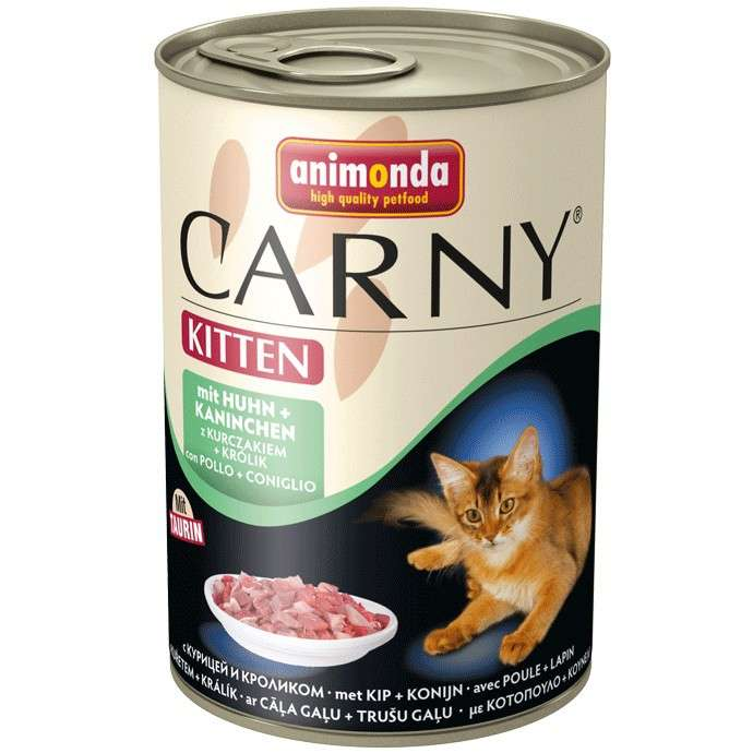 Animonda Carny Kitten Kip & Konijn 6x400 g