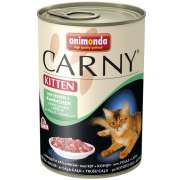 Animonda Carny Kitten Pollo + Conejo 6x400 g
