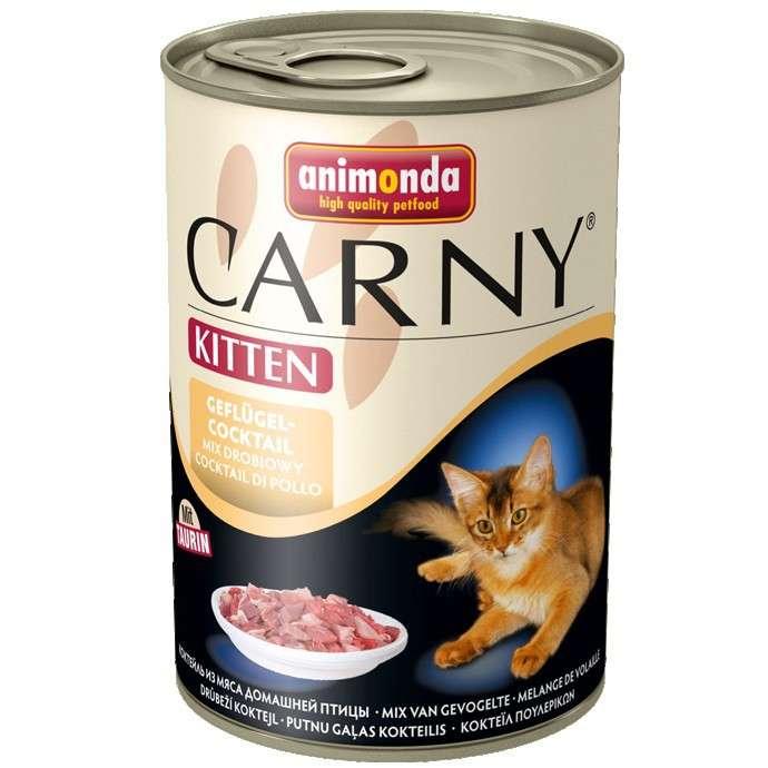 Carny Kitten Poultry Cocktail by Animonda 6x400 g buy