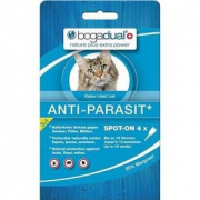 Bogar Bogadual anti-parasite Spot-On pour chat 0.75 ml