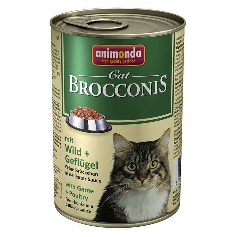 Animonda Brocconis Cat with Poultry & Game 400 g order cheap