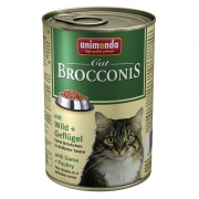 Animonda Brocconis Cat con Venado y Aves de Corral 400 g