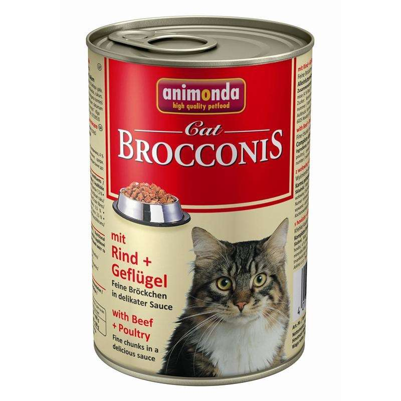 Animonda Brocconis Cat with Poultry & Beef 400 g buy online
