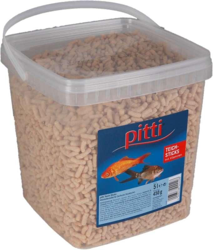 Pitti teich sticks 630 g teichfischfutter for Teichfische preise