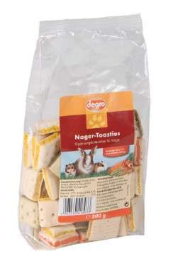 Degro Toasts for rodents 200 g