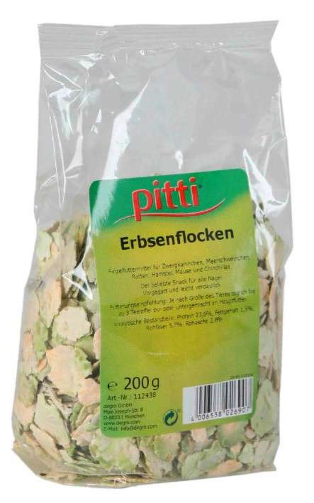 Pitti Peas Flakes 200 g
